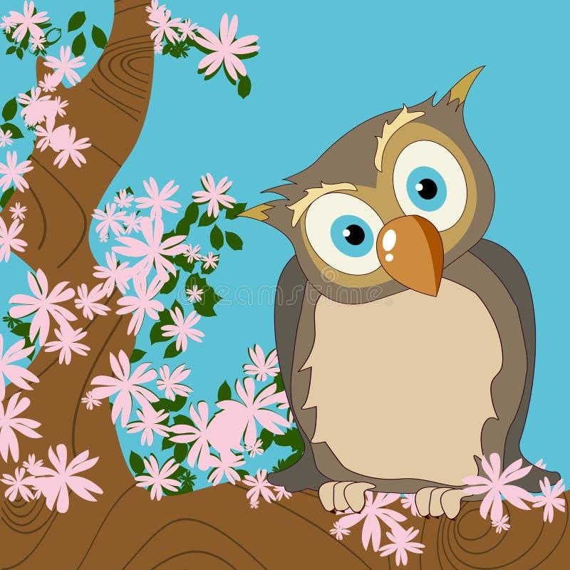 Download Cute owl stock vector. Illustration of artistic, bird - 18683186