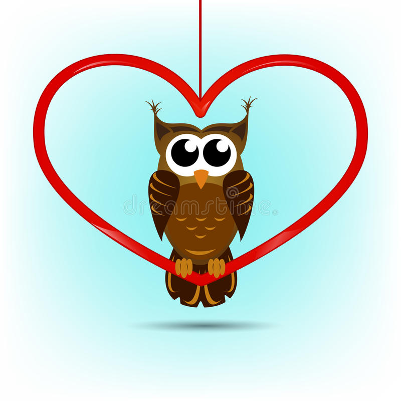 Cute Owl Valentines Day Card Royalty Free Photos Image – Owl Valentines Day Cards