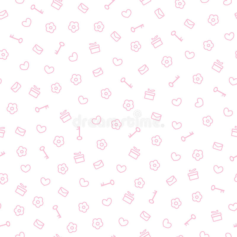 Cute pastel pattern seamless pretty pink background stock vector download cute pastel pattern seamless pretty pink background stock vector illustration of ornament voltagebd Gallery