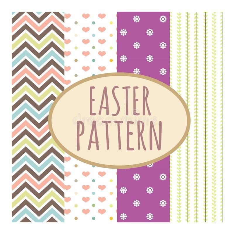 Cute pastel pattern royalty free stock image