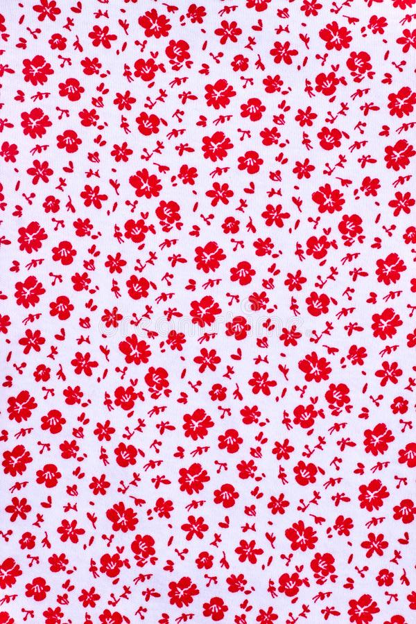 Cute pattern in small flower. stock photography