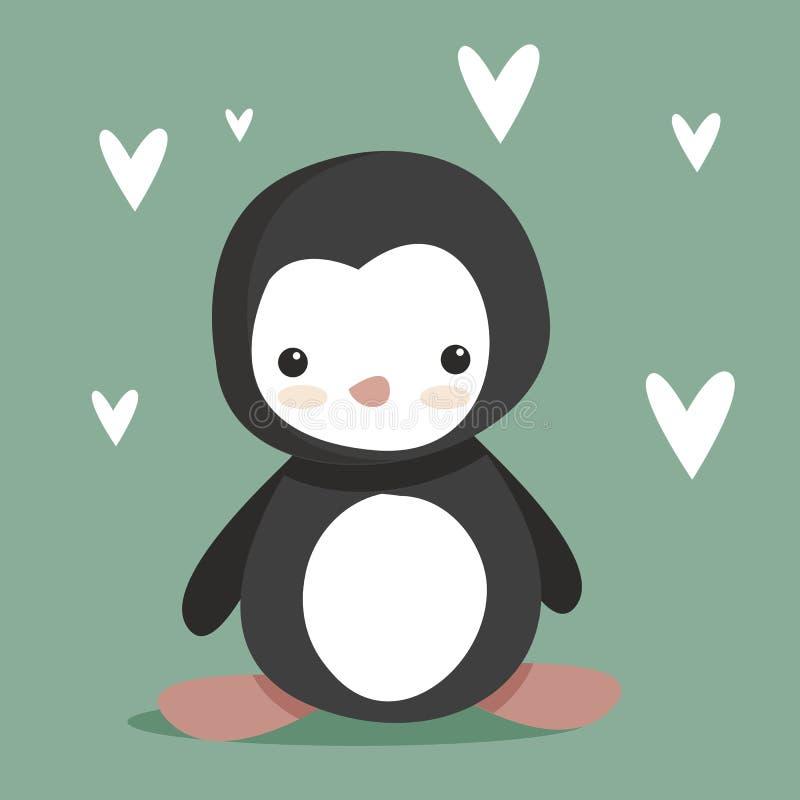 Download Cute Penguin stock vector. Image of colorful, happy, bird - 18195603