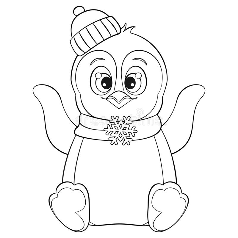 Free Printable Penguin Coloring Page in 2020 | Penguin coloring ... | 800x800