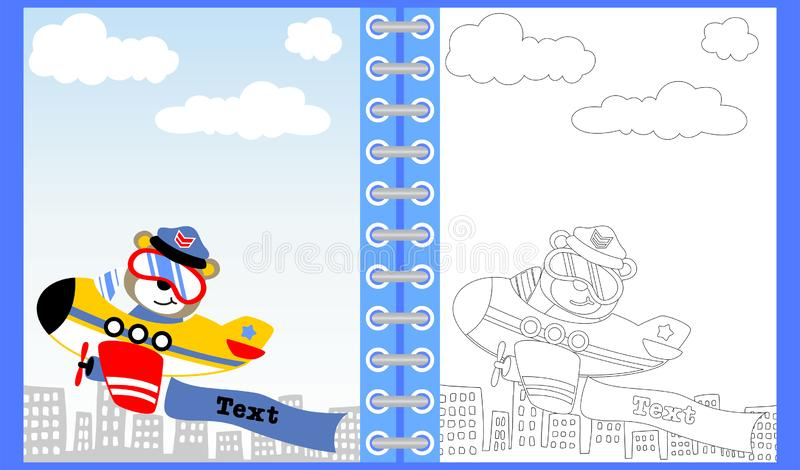 Cartoon Plane Pilot Stock Illustrations 7 202 Cartoon Plane