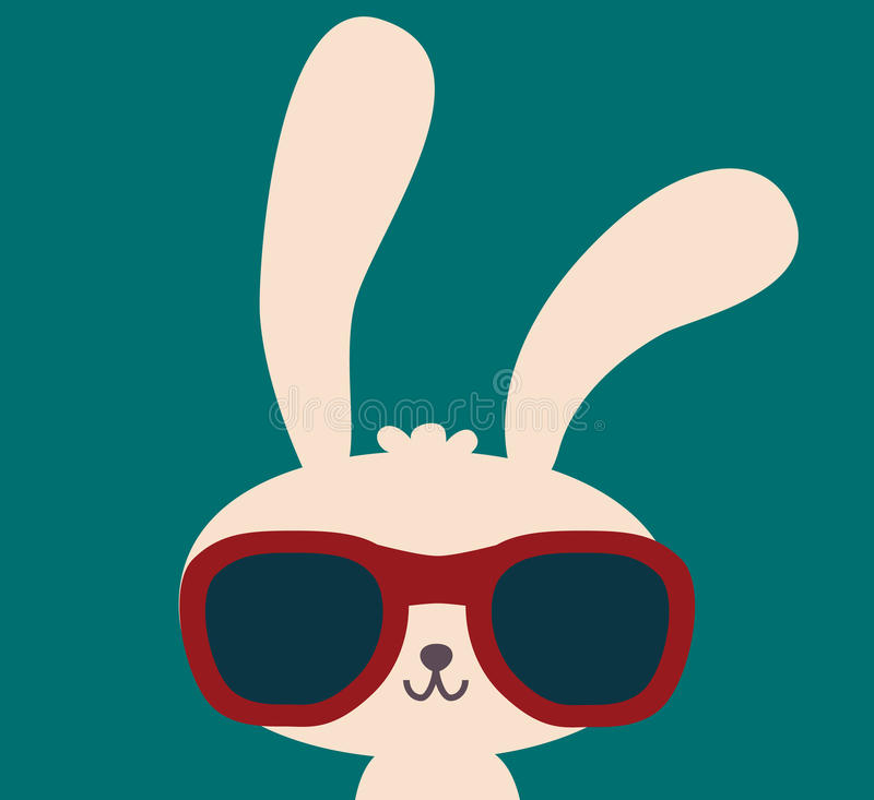 Cute Rabbit vector illustration