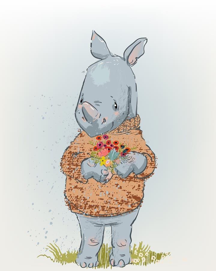 Rhino Stock Illustrations 10 174 Rhino Stock