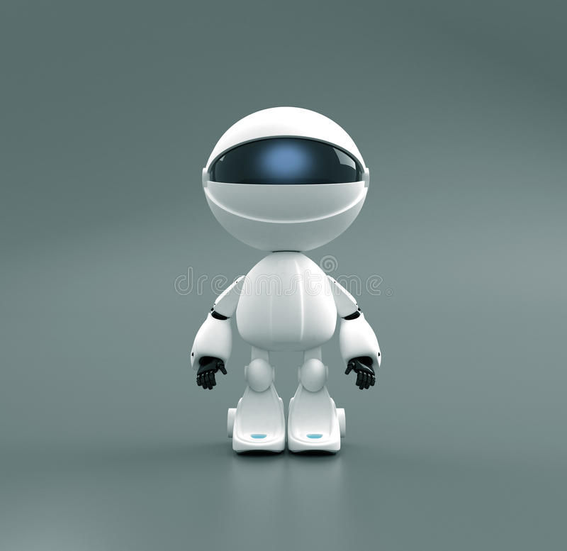 Free Cute Robot Toy Royalty Free Stock Photos - 11670308