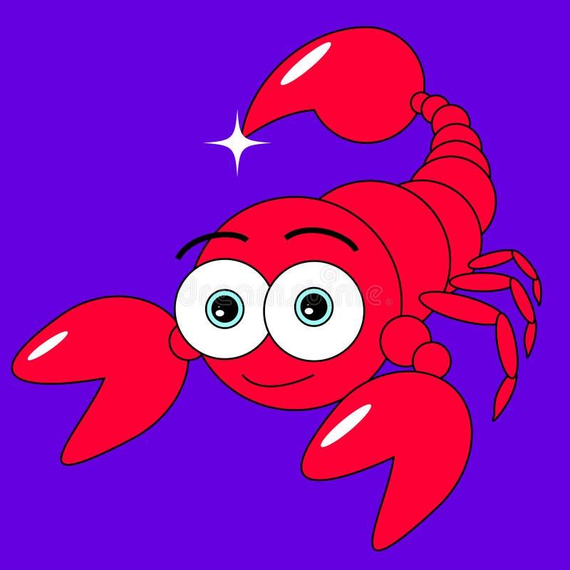 Download Cute Scorpion stock vector. Image of scorpion, adorable - 7791442
