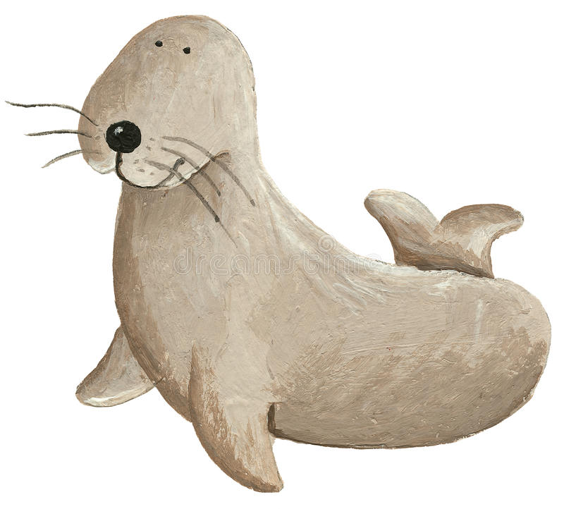 Free Cute Sea Lion Stock Photography - 48908382