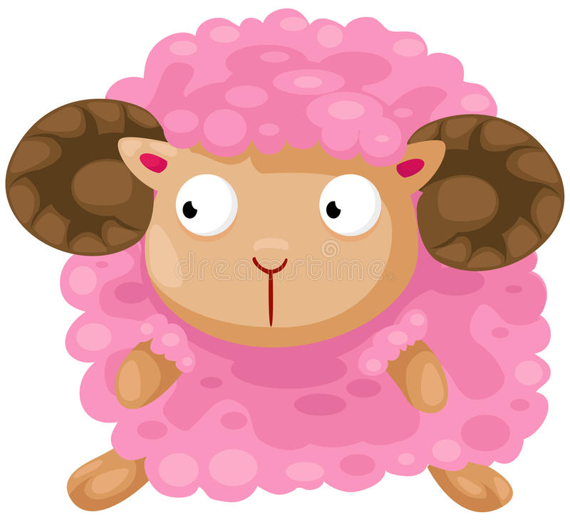 Download Cute sheep stock vector. Image of puppy, clipart, design - 24254307