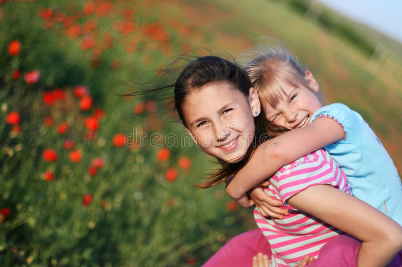 Download Cute sisters stock photo. Image of loving, baby, leisure - 14593448