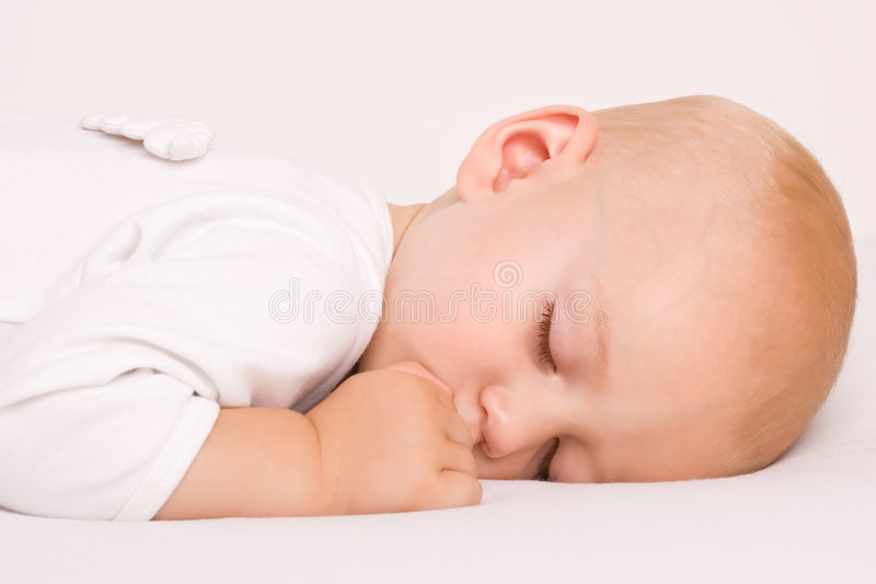 Download Cute Sleeping angel boy stock image. Image of clean, adorable - 5965191