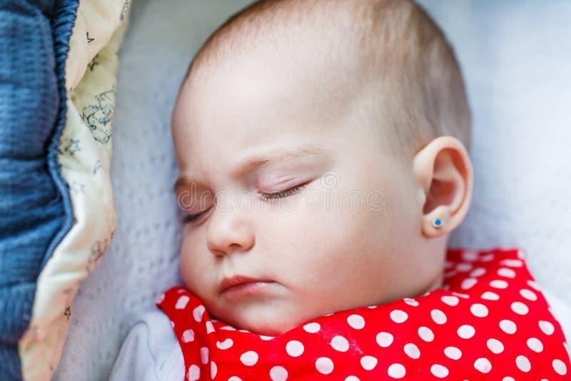 Cute sleeping baby royalty free stock image