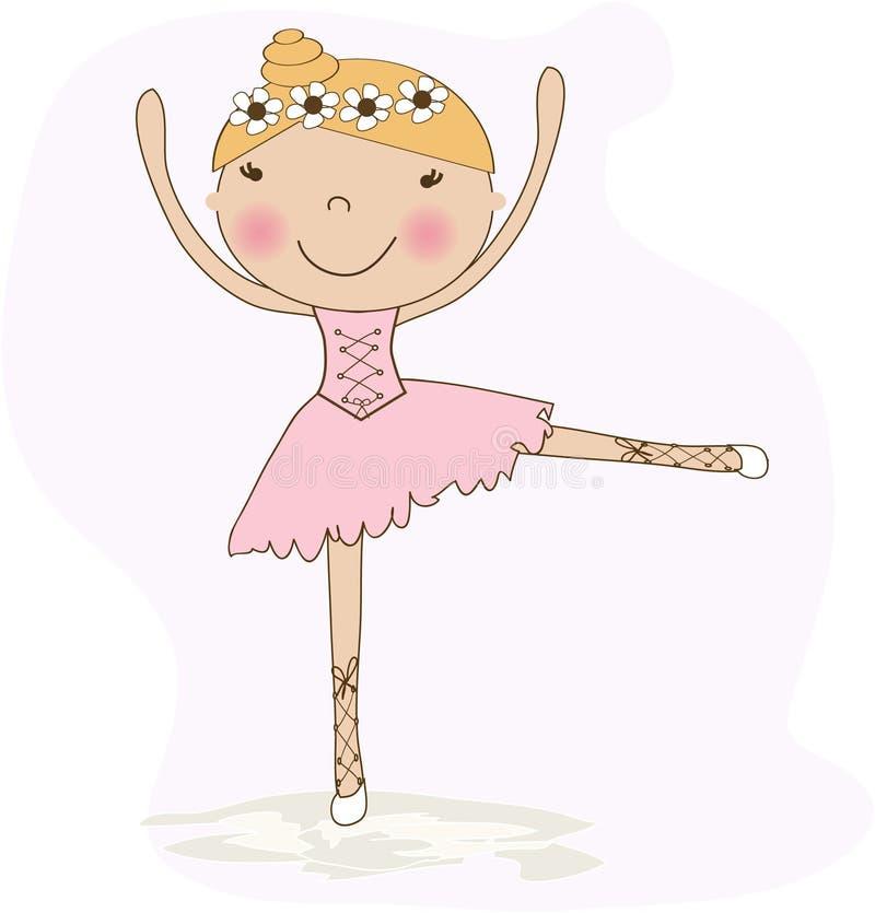 Download Cute small ballerina stock illustration. Image of body - 15968890