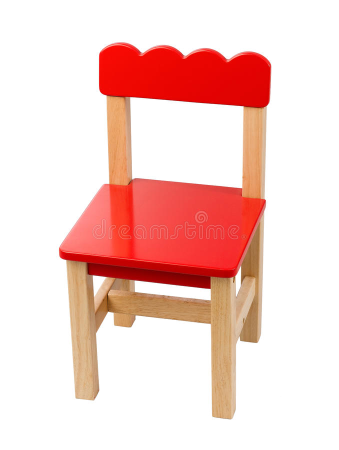 Cute small chair. A cute small chair for child royalty free stock image