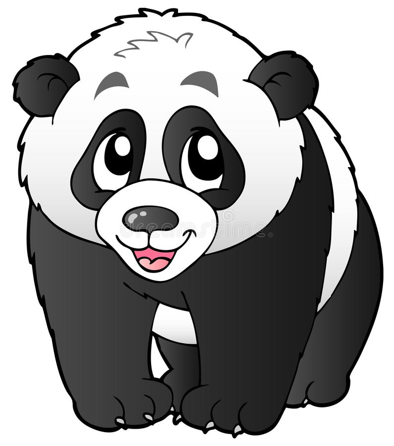 Cute Small Panda Stock Photography