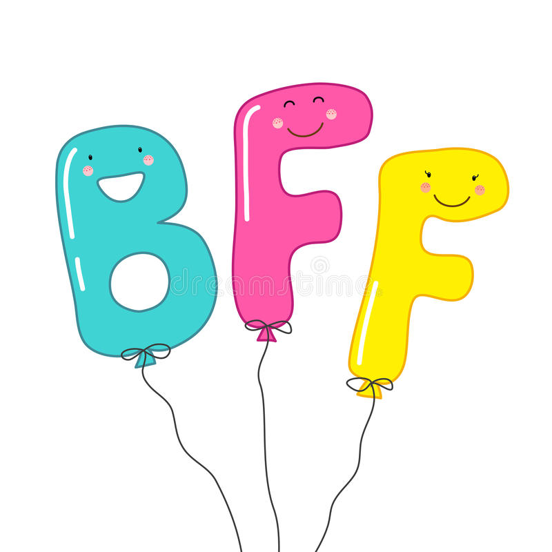 9 Letter Cartoon Characters : Cute smiling cartoon characters of letters bff best