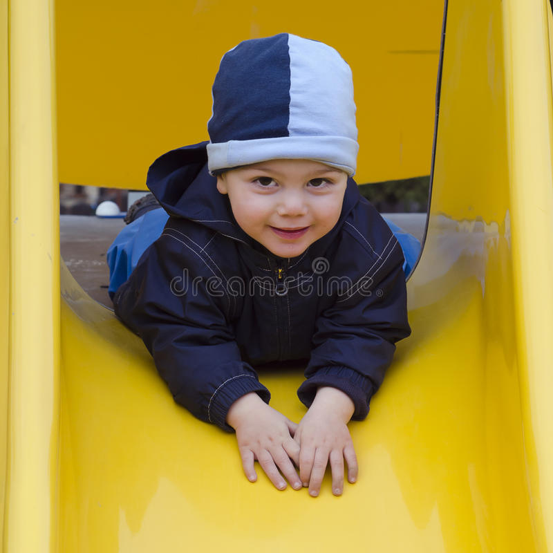 Download Child at playground. stock image. Image of look, entertainment - 29764957