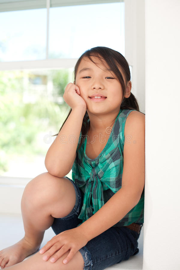 Download Cute smiling girl stock image. Image of smiling, student - 20466257