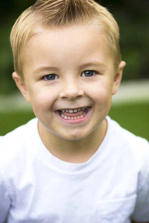 4 Year Boy Bedroom Decorating Ideas: Cute, Smiling Little Boy Portrait Royalty Free Stock Image