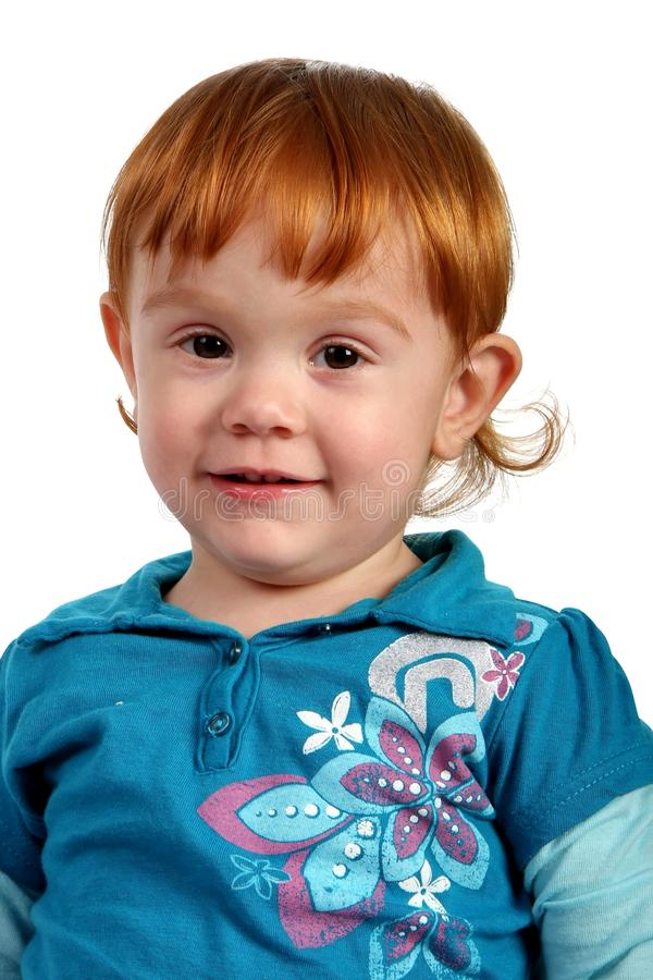 Cute Smiling Little Girl royalty free stock images