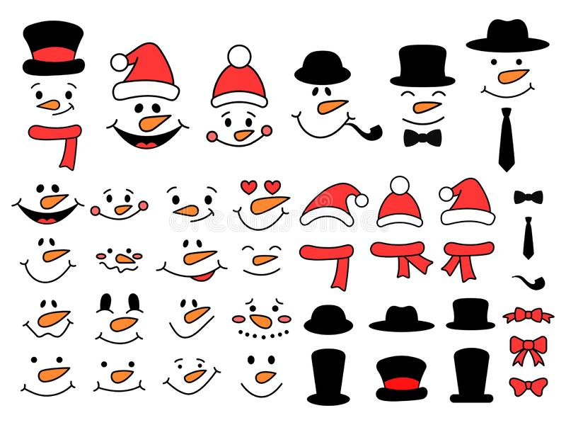 It is a picture of Gutsy Printable Snowman Face
