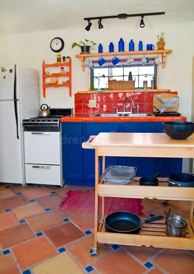 Cute Southwestern Kitchen Royalty Free Stock Photography