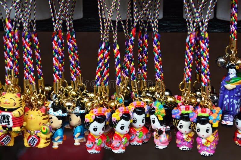 Cute souvenir from Asakusa Japan stock photo