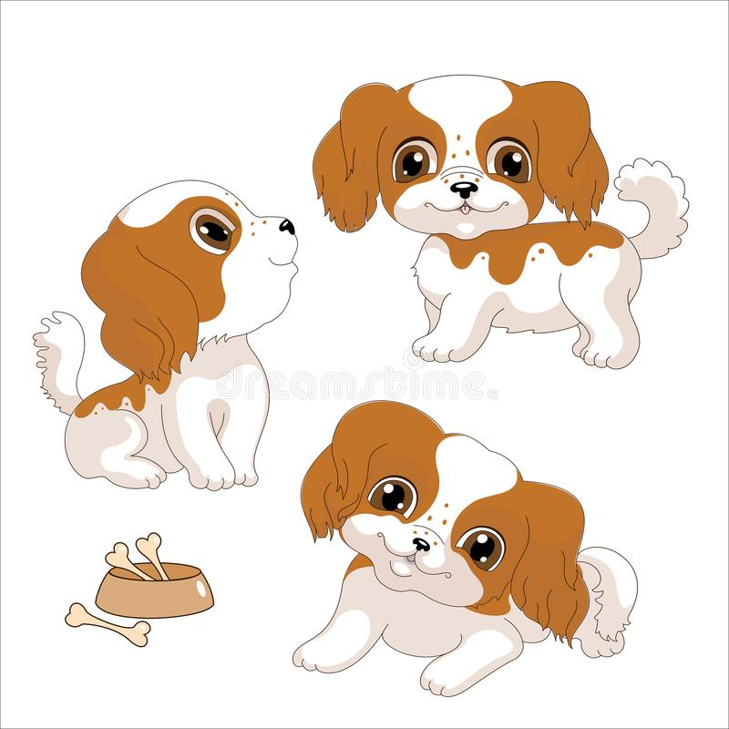Spotted Dog Stock Vector Illustration Of Sketch Isolated