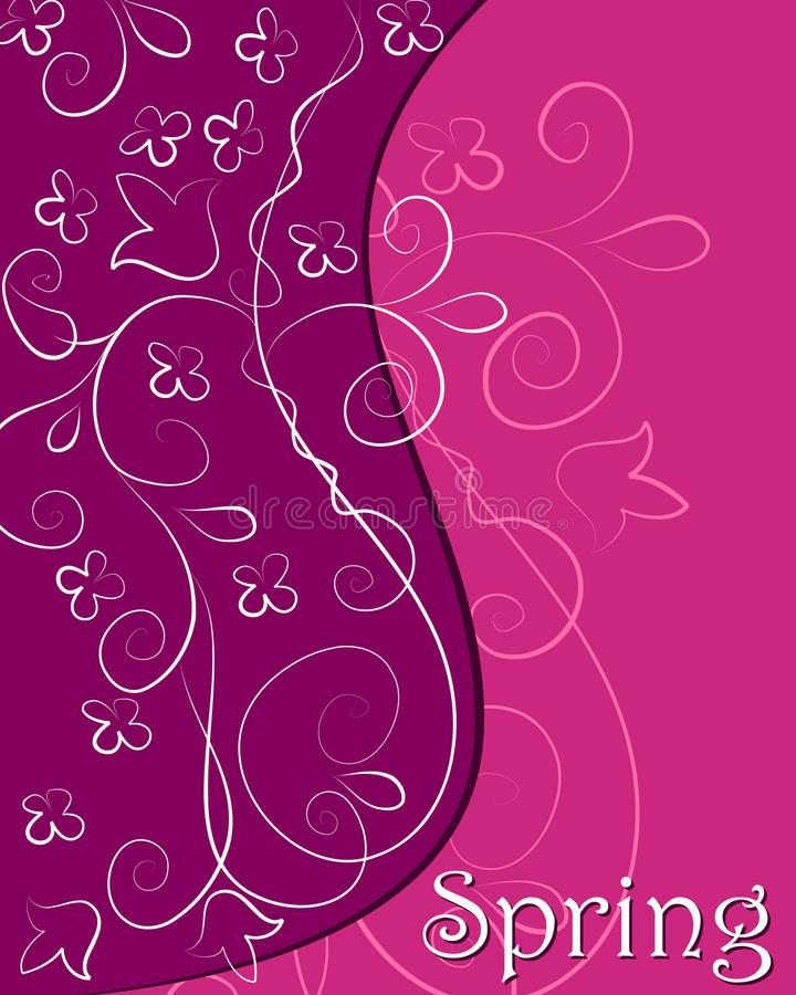 Download Cute spring background stock vector. Image of abstract - 25658915