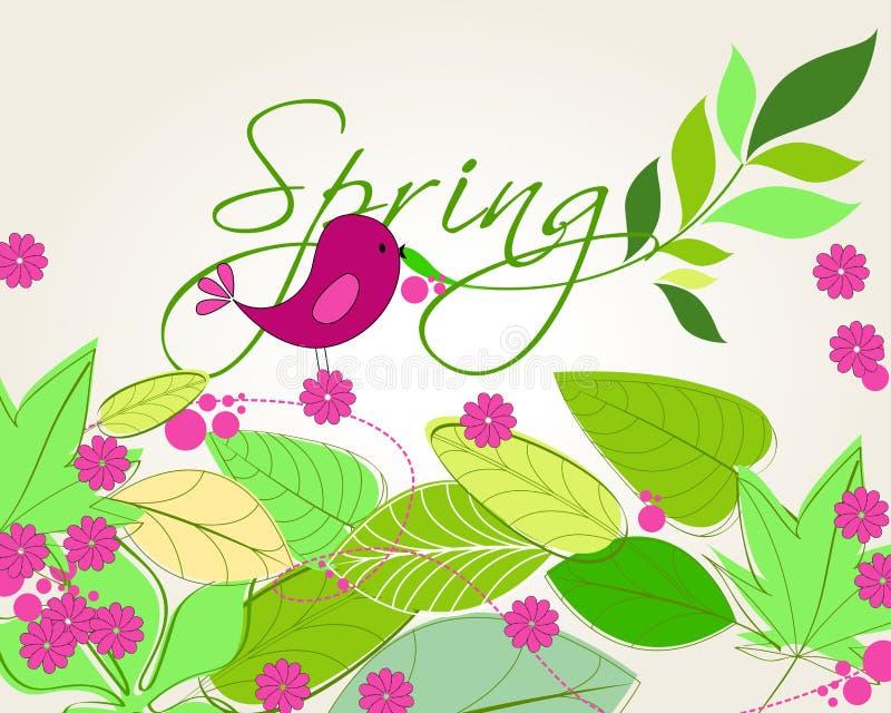 Download Cute Spring Bird Illustration Royalty Free Stock Photo - Image: 19612245