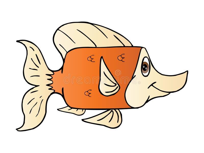 The cute square fish