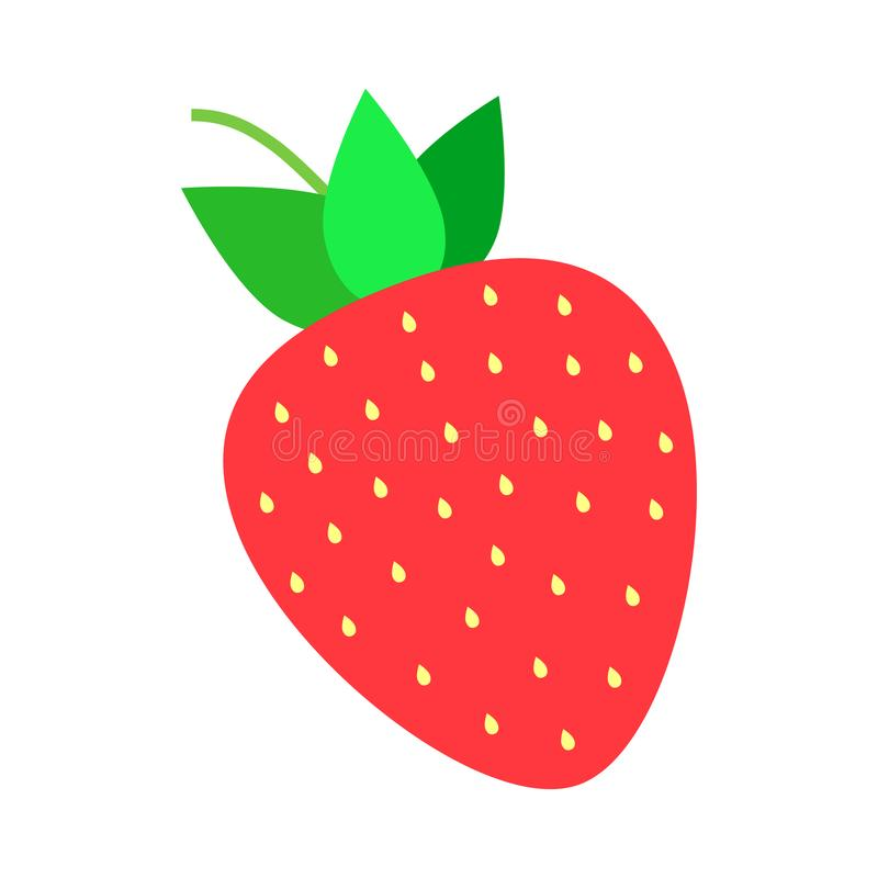 cute sweet strawberry vector illustration stock vector rh dreamstime com strawberry vector logo strawberry vector art