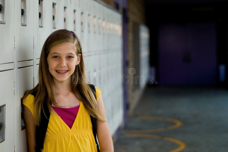 Download Cute Student Stock Image - Image: 6438361