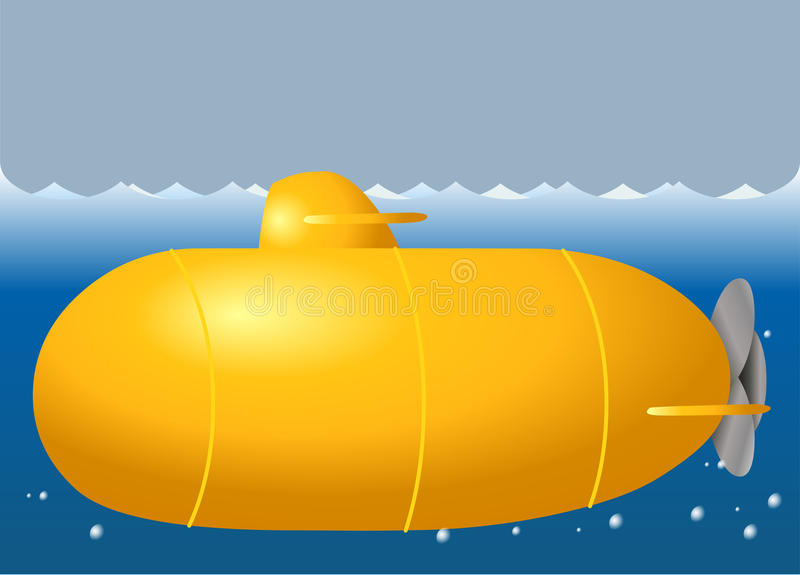 Download Cute submarine stock vector. Illustration of objects - 39510248