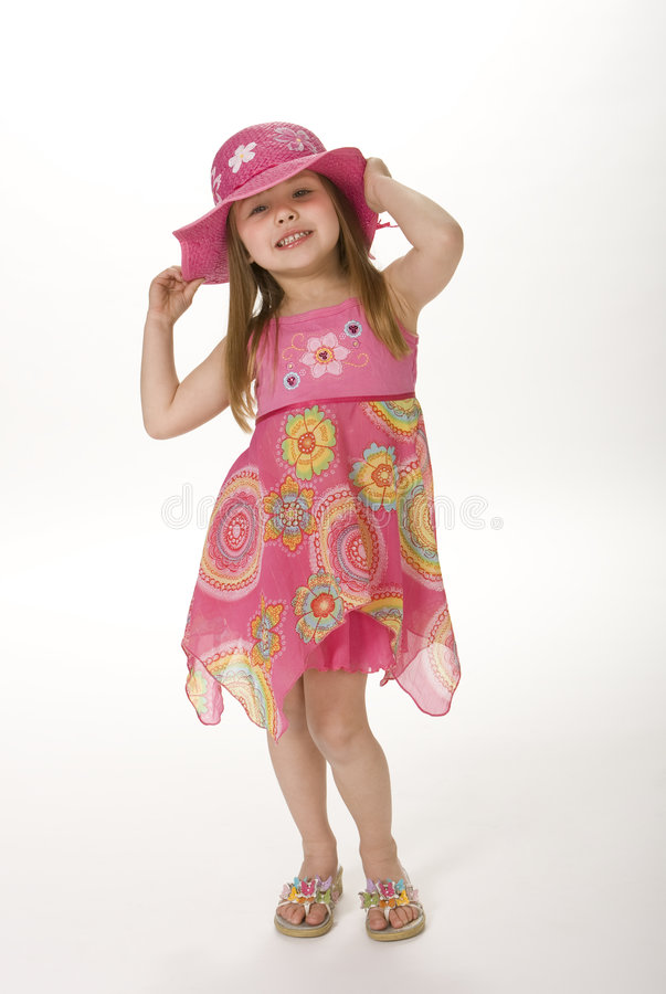Cute Summer Girl royalty free stock images