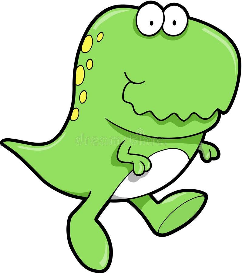 Download Cute T-Rex Dinosaur stock vector. Illustration of teeth - 6658051