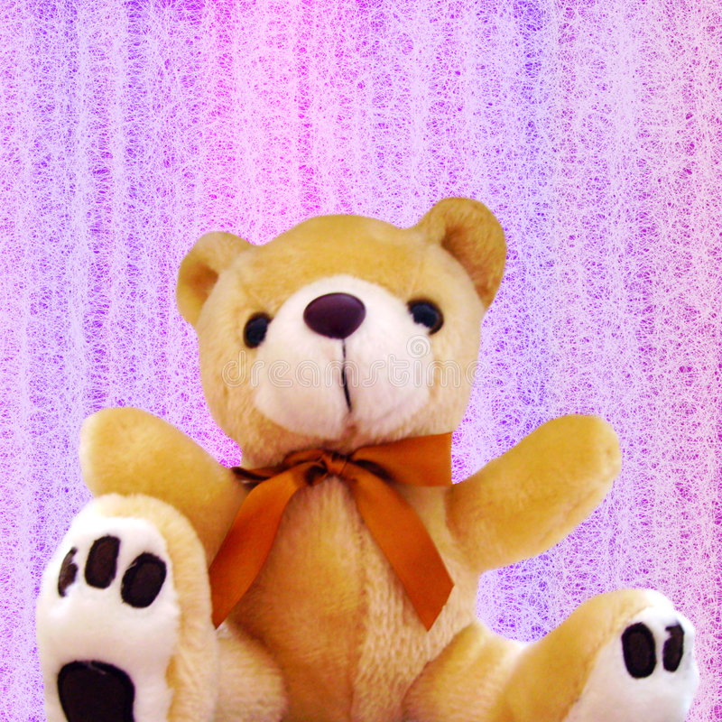 Cute Teddy Bear Royalty Free Stock Images
