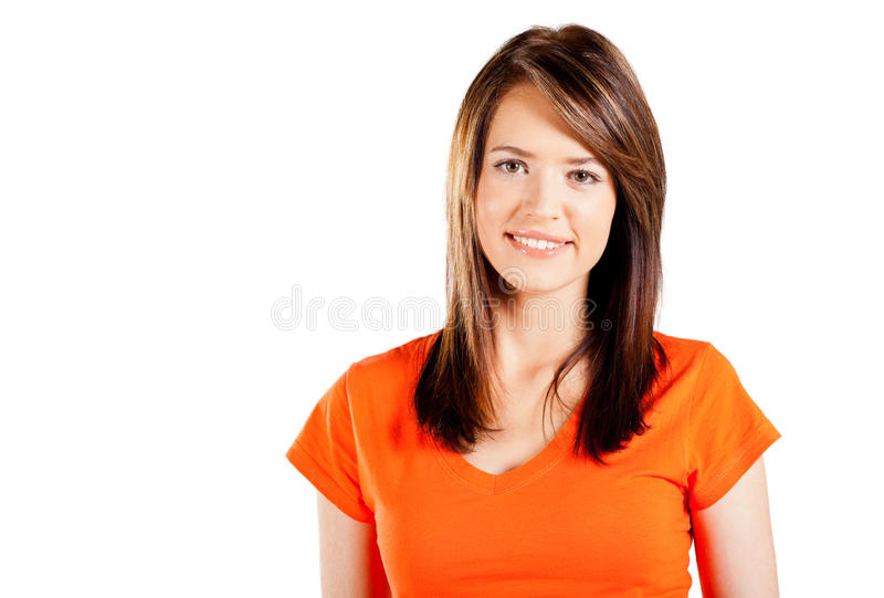 Download Cute teen girl stock image. Image of cutout, adolescent - 24017783