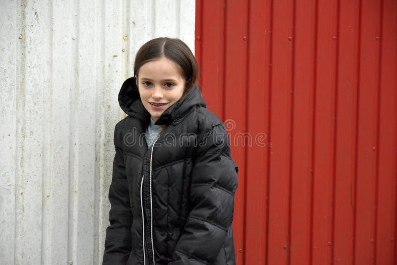 Cute teenage girl royalty free stock photography