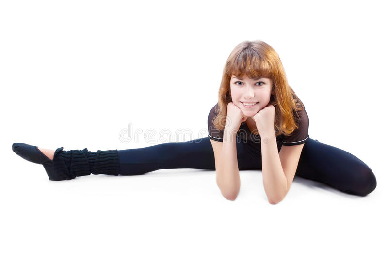 Download Cute Teenage Girl Stretching Stock Photo - Image: 17821544