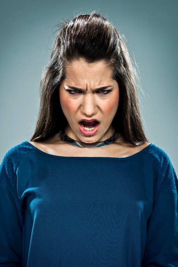 Download Cute Teenager Shouting stock photo. Image of posing, camera - 29719464