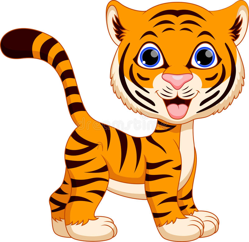 Cute tiger cartoon sto...
