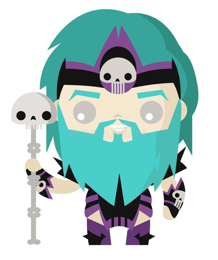 cute tiny hades pluto god of the dead roman greek stock vector rh dreamstime com  hades clipart black and white