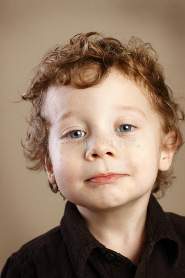 Free Cute Toddler With Ringlets Stock Images - 24285344