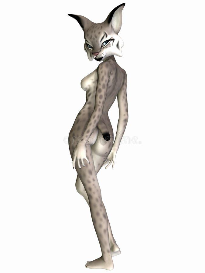 Download Cute Toon Figure - Lynx stock illustration. Illustration of toonimal - 13260533