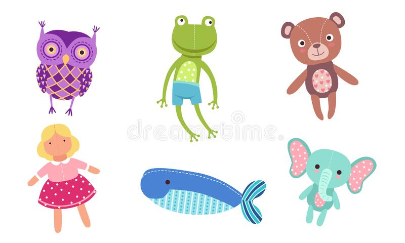 Children Pulling Line Small Toys Turtle Rabbit Lobster Crab Mouse Bee Frog Bird
