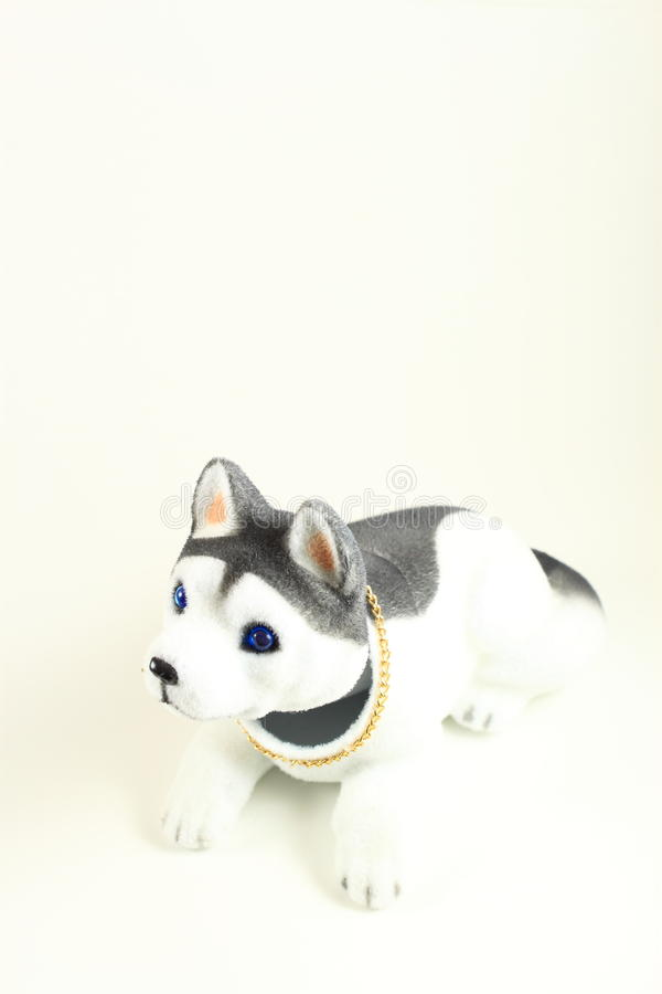 Cute Toy Dog Stock Photo