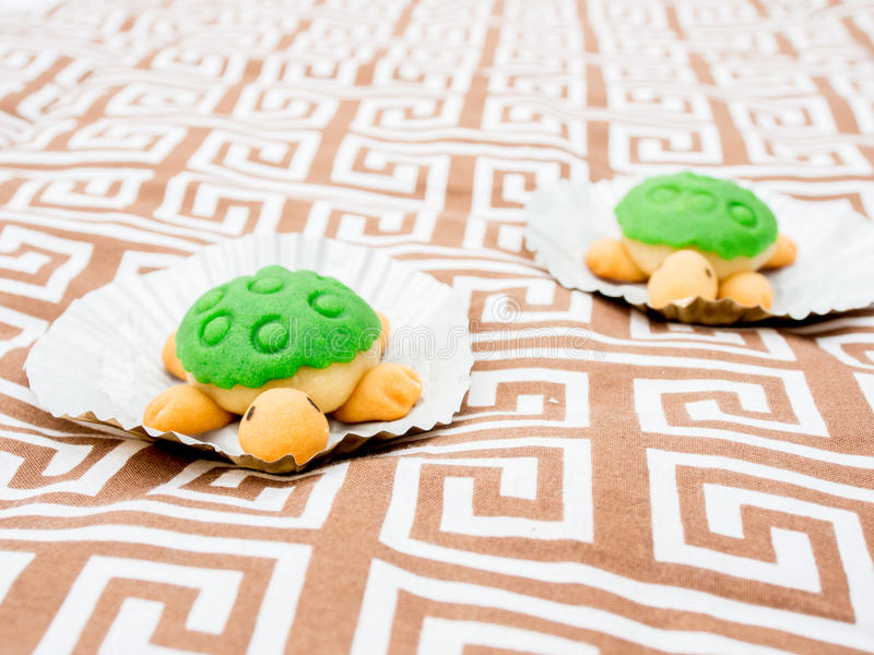 Cute Turtle Shaped Cake stock image Image of green shaped 90738797