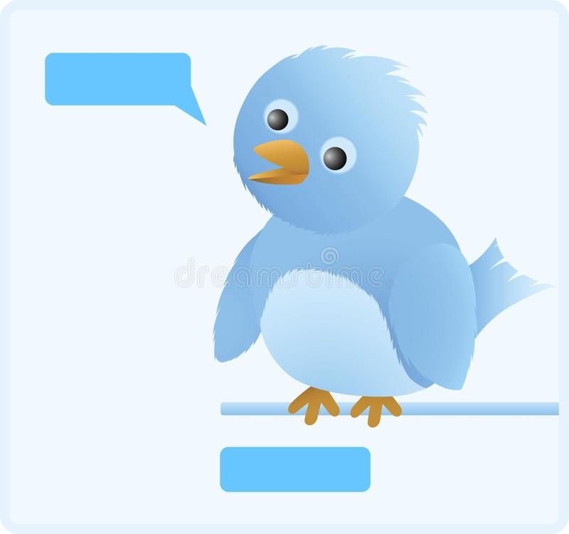 Download Cute Twitter Bird Stock Image - Image: 11315431